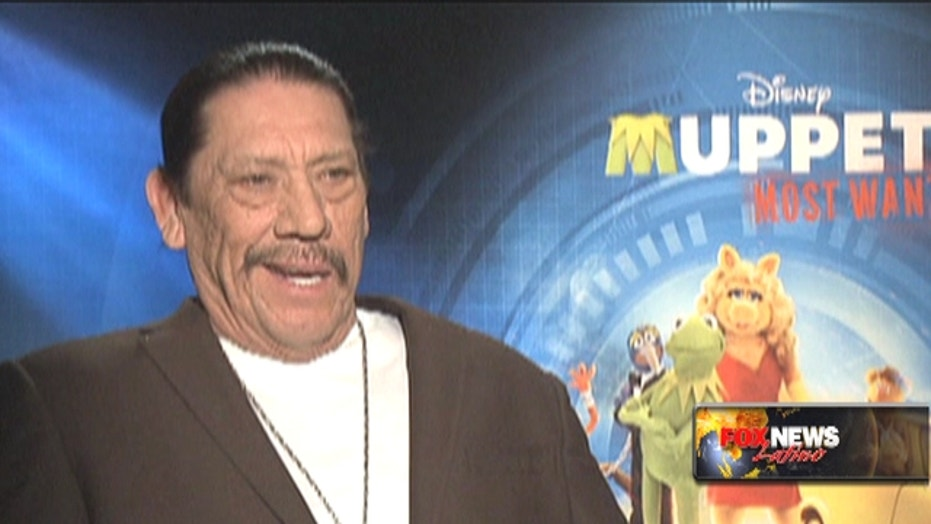 Danny Trejo Polishes Off Dancing Shoes, Singing Voice For 'Muppets Most Wanted'