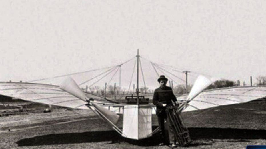 Wright brothers really first to fly?