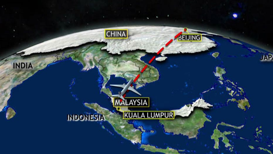 Report: Flight 370's path diverted through computer system
