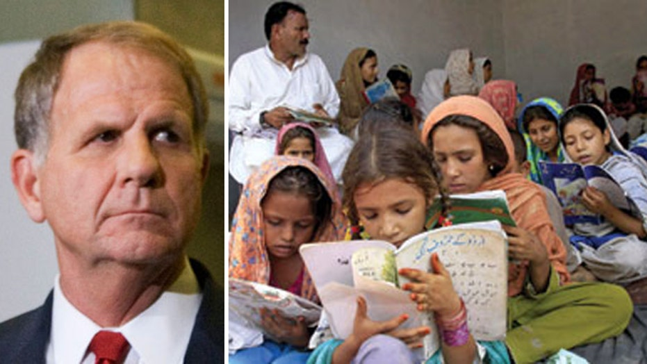 Republican blasts higher education aid for Pakistan
