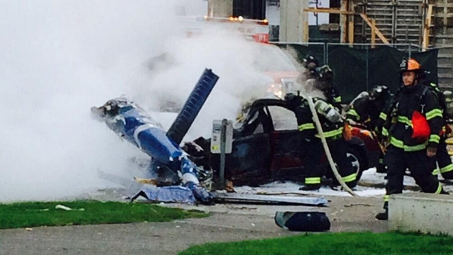 Witness: Unusual noises before helicopter accident
