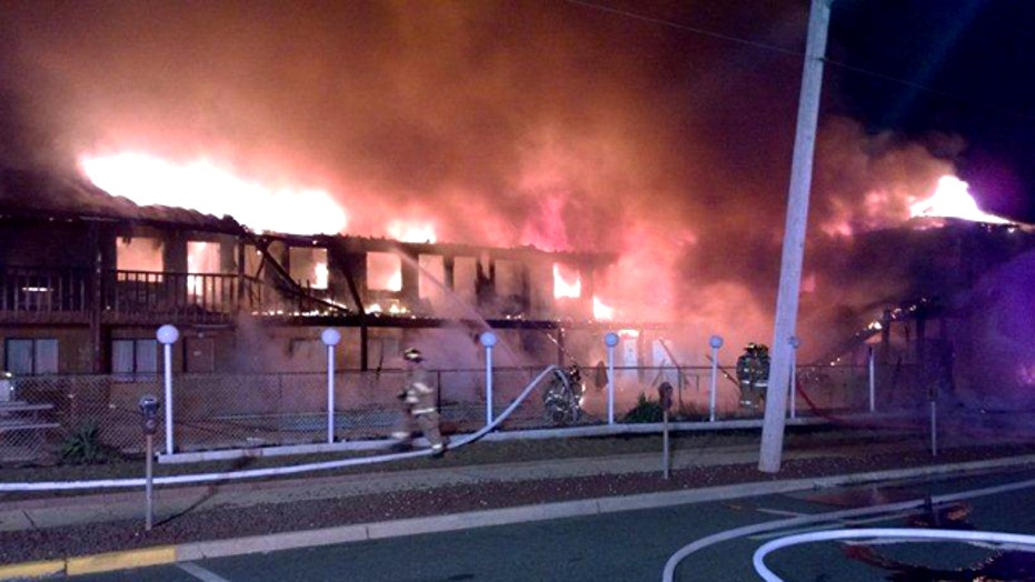 At least 3 killed, 10 missing in Jersey Shore motel fire