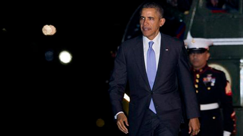 Embarrassing week for President Obama on global stage?