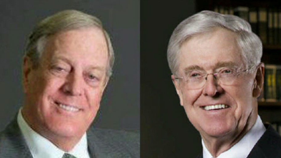 Harry Reid leads charge against Koch brothers
