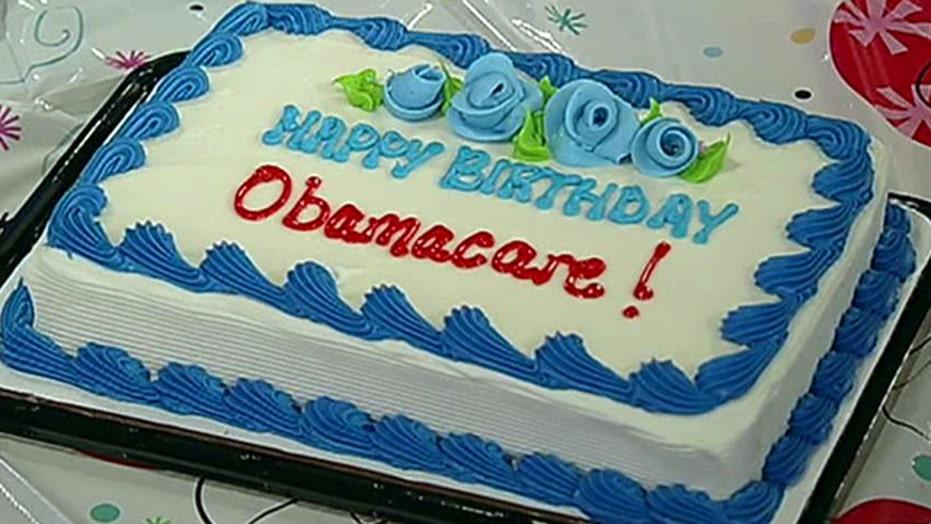 Birthday bash for ObamaCare