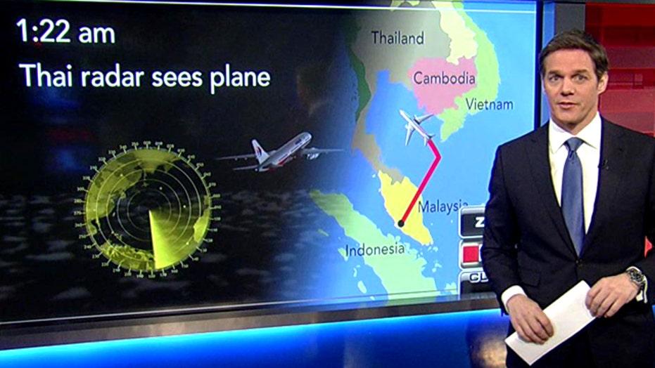 Bill Hemmer breaks down latest timeline of Flight 370