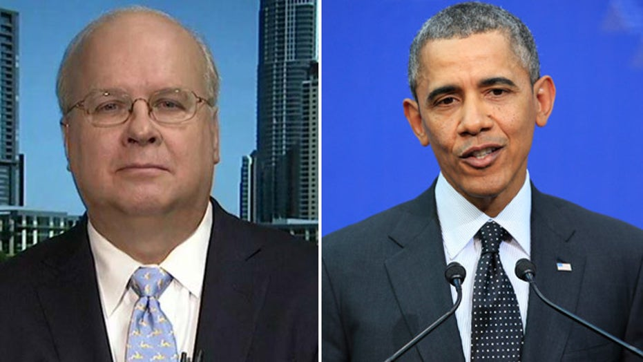Rove: 'Chickens coming home to roost' on Obama
