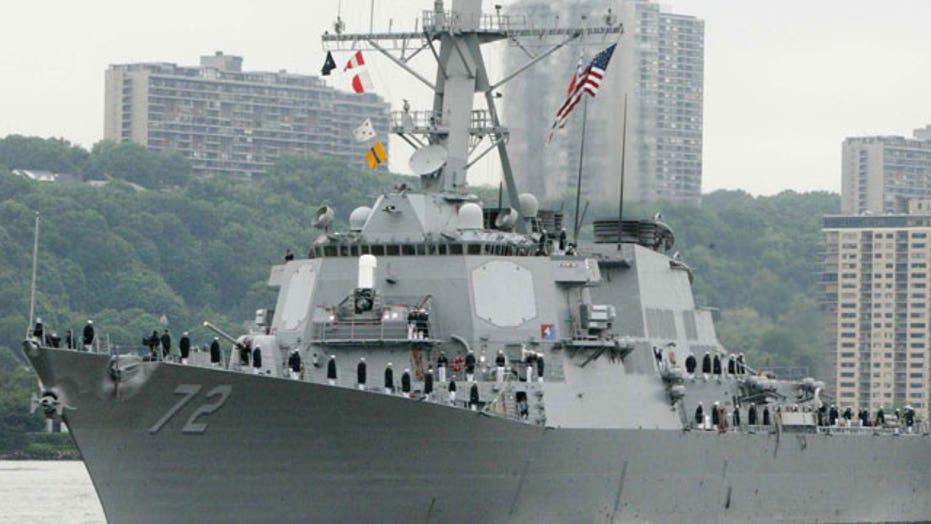 Sailor, gunman dead after naval base shooting