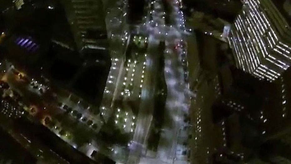 Daredevils arrested after jumping from World Trade Center
