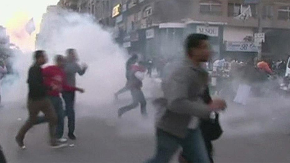 Egyptian protesters angered by US support for Morsi