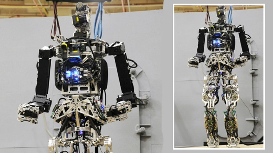 War Games: Robots join the Navy to fight fires at sea