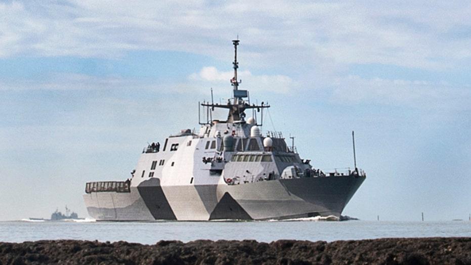 Next-gen battleship joining the Pacific fleet