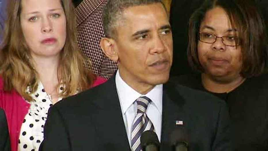 Presidential pressure: Obama renews call for new gun control