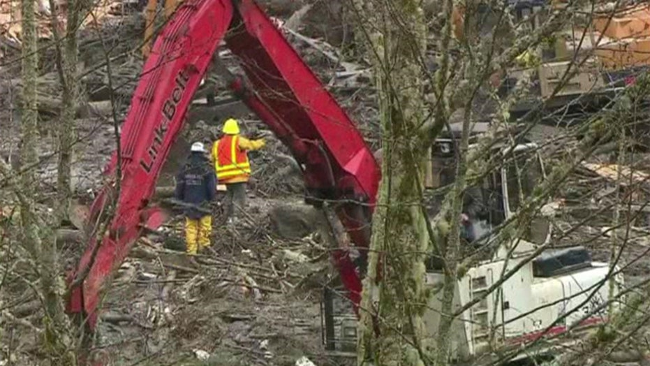 Search for survivors continues after Washington mudslide