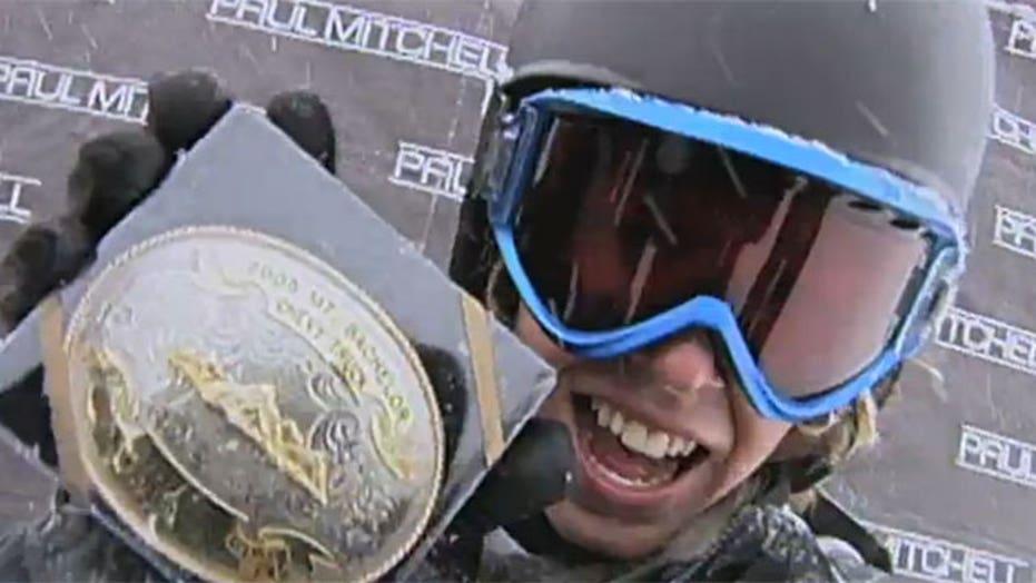 Snowboarder's traumatic brain injury