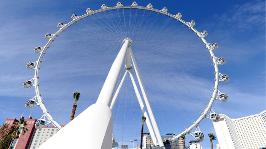 High Roller: World's tallest Ferris wheel