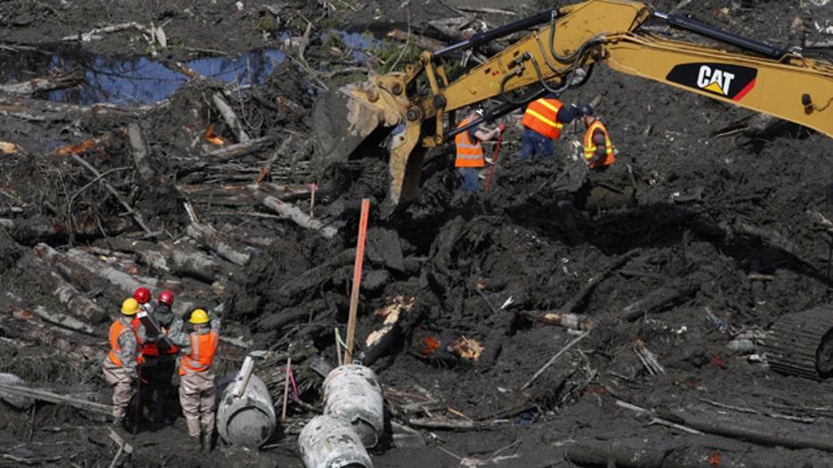 Death toll rises in mudslide; governor seeks federal aid