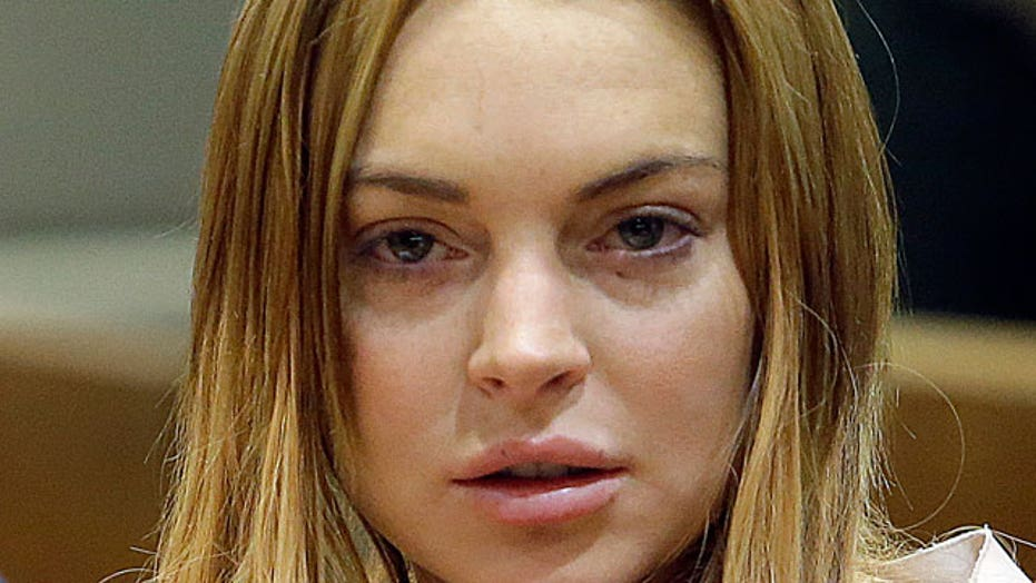 Lindsay Lohan flat broke?