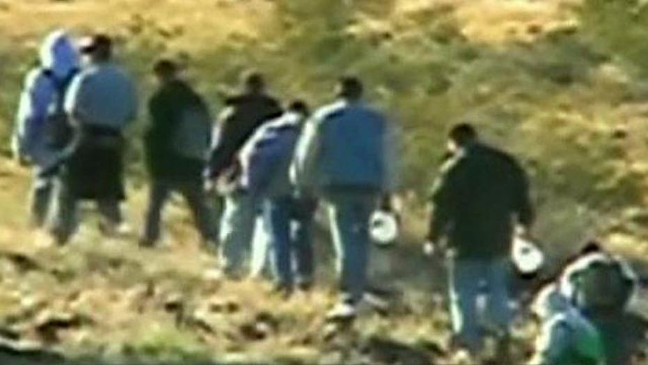 Documents show surge of illegals slipping across the border