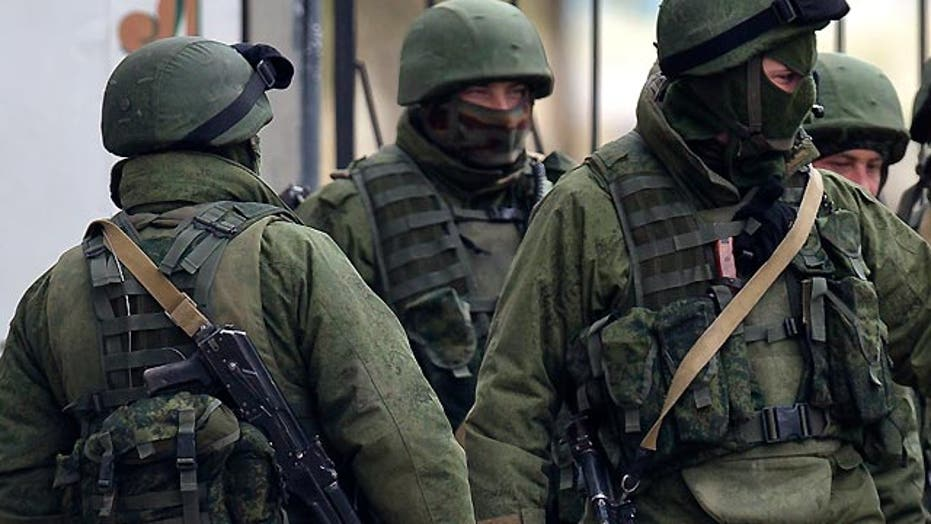 Concern over Russian capability for Ukrainian incursion