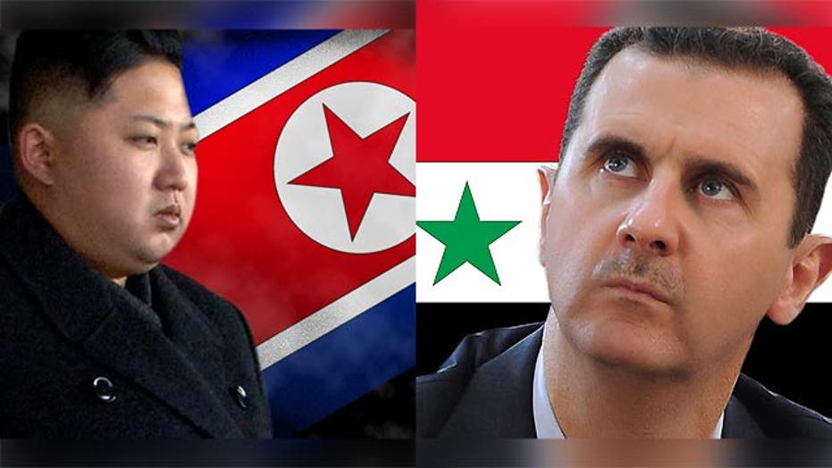 How to deal with issues in North Korea, Syria