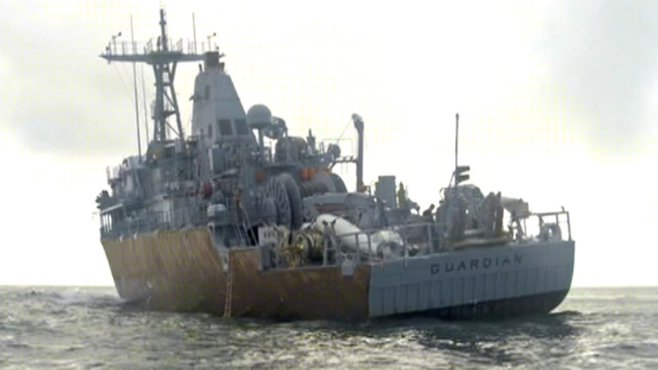 US Navy embarrassed by loss of $300M minesweeper