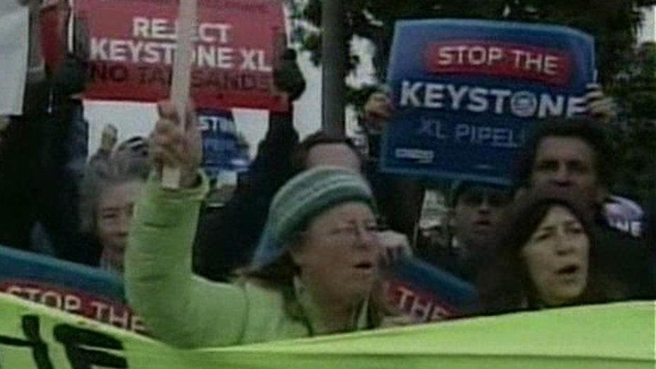 Environmentalists turn up heat with anti-pipeline protests
