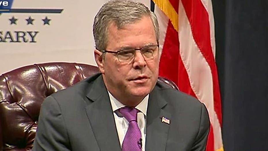 Exclusive: Jeb Bush talks immigration, education