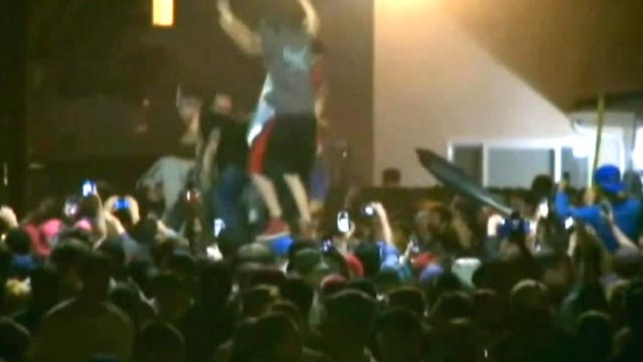 About 100 arrests made during riot at spring break party