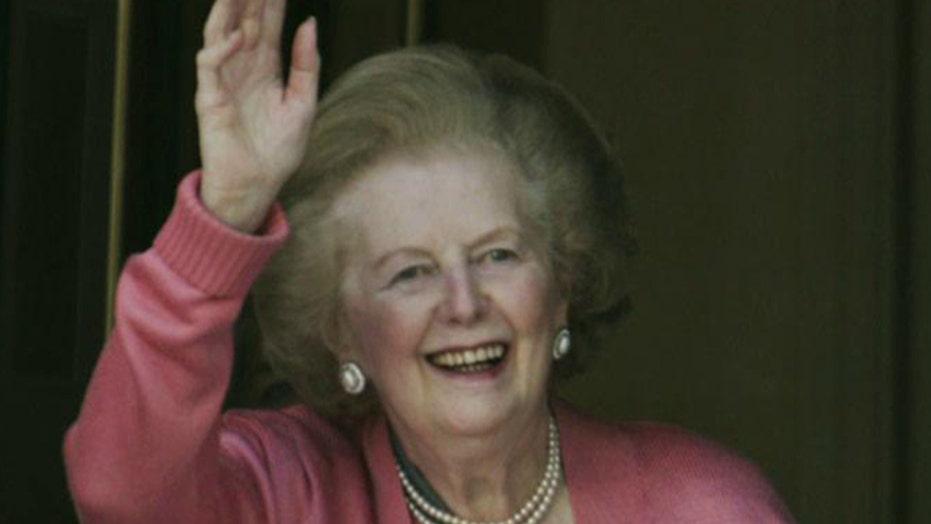 Margaret Thatcher's impact on the Bush White House