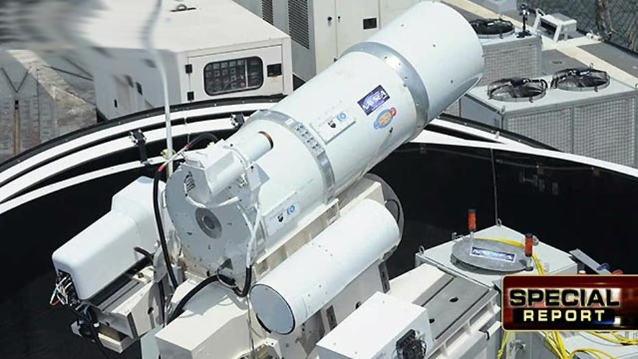 US Navy preparing to test new weaponized laser