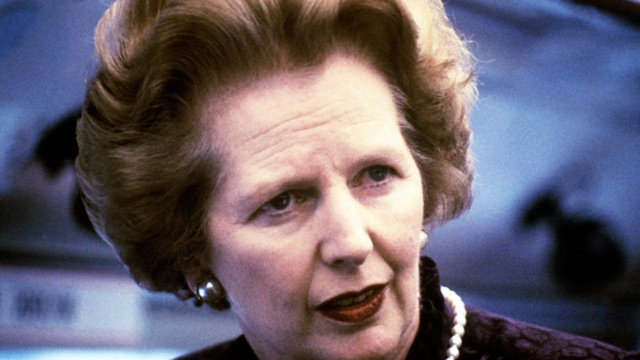 A look back at Margaret Thatcher's life