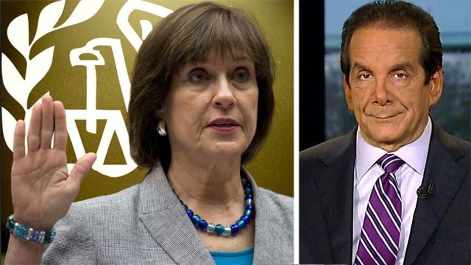 Krauthammer on IRS targeting scandal