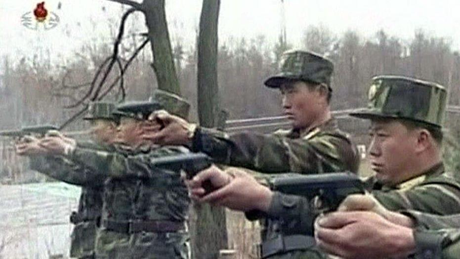 North Korea warns foreigners to leave South Korea