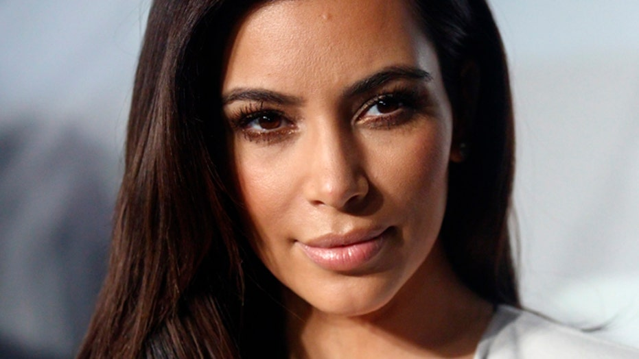 Kim Kardashian is naked again