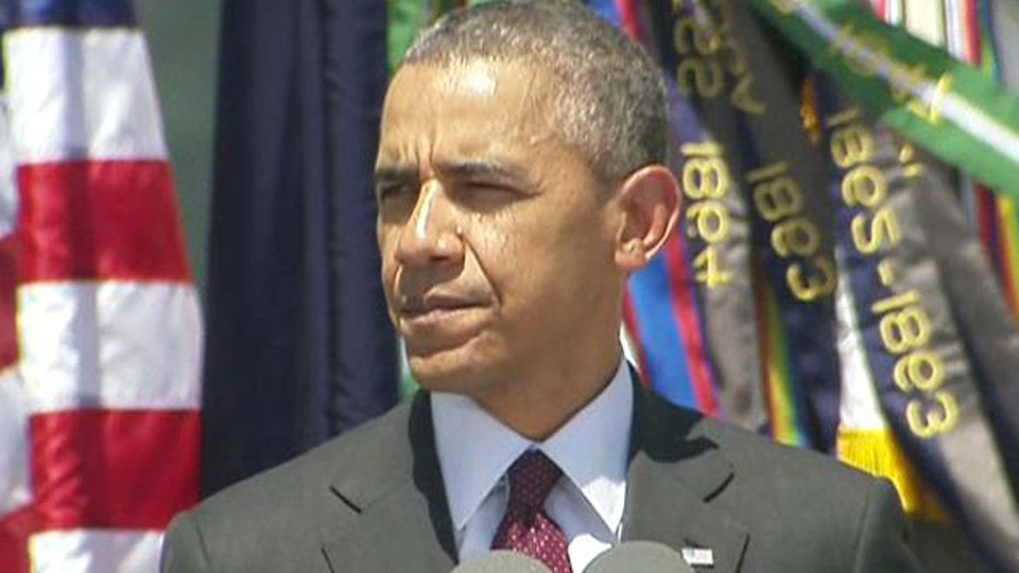 President Obama pays tribute to Fort Hood fallen soldiers
