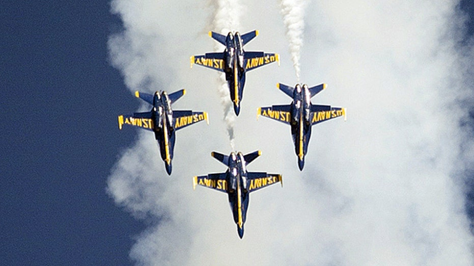 Budget cuts ground Blue Angels