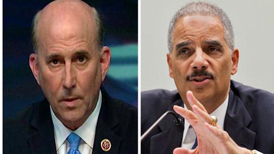 Rep. Louie Gohmert blasts Holder for blaming racism