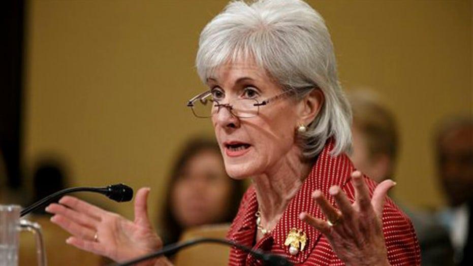 HHS Secretary Sebelius resigning from Obama administration