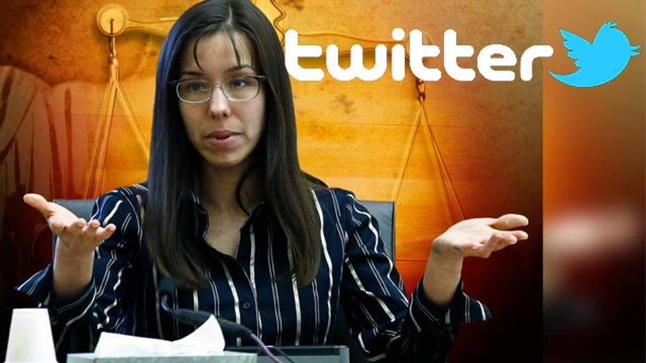 Jodi Arias being heard from behind bars