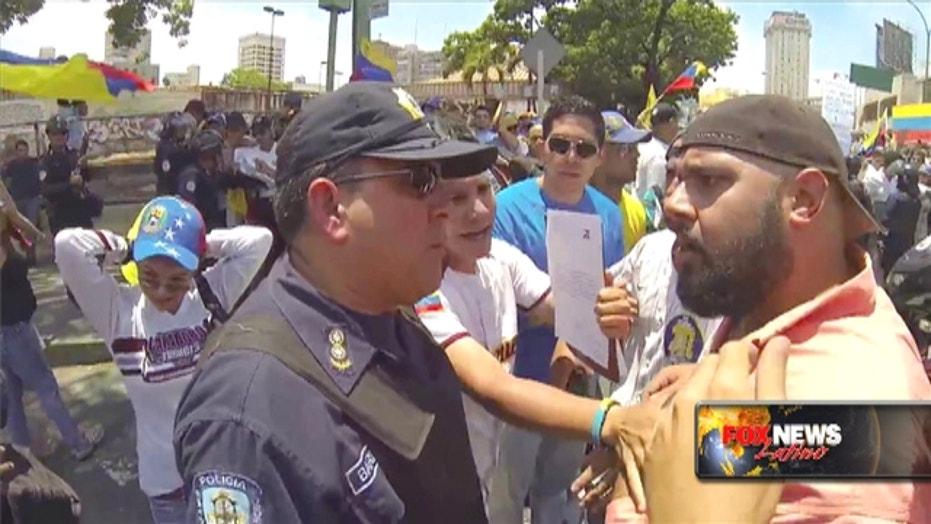 Venezuela's Protests Will Continue Despite Talks, Students Say