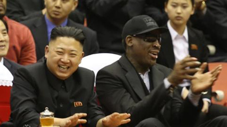 Rodman rule needed for celebrities visiting rogue nations