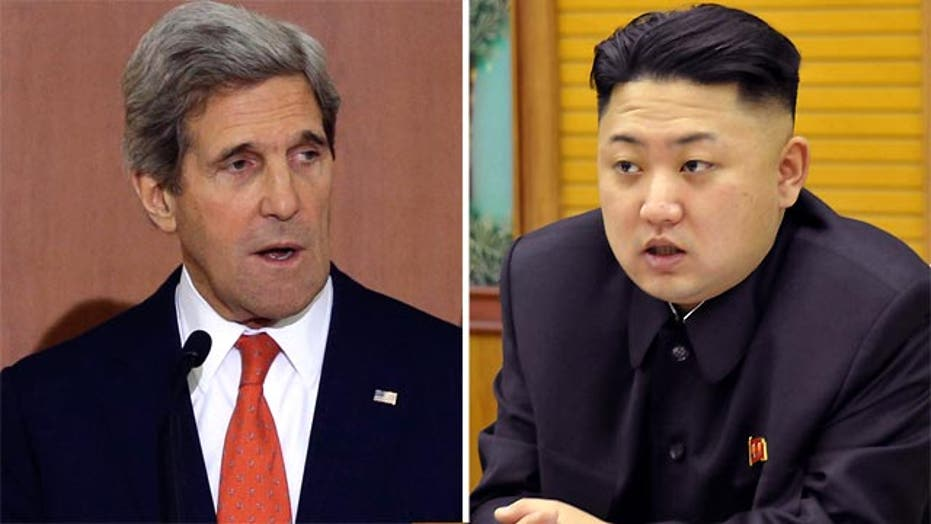 Kerry to N. Korea: Missile launch would be 'huge mistake'