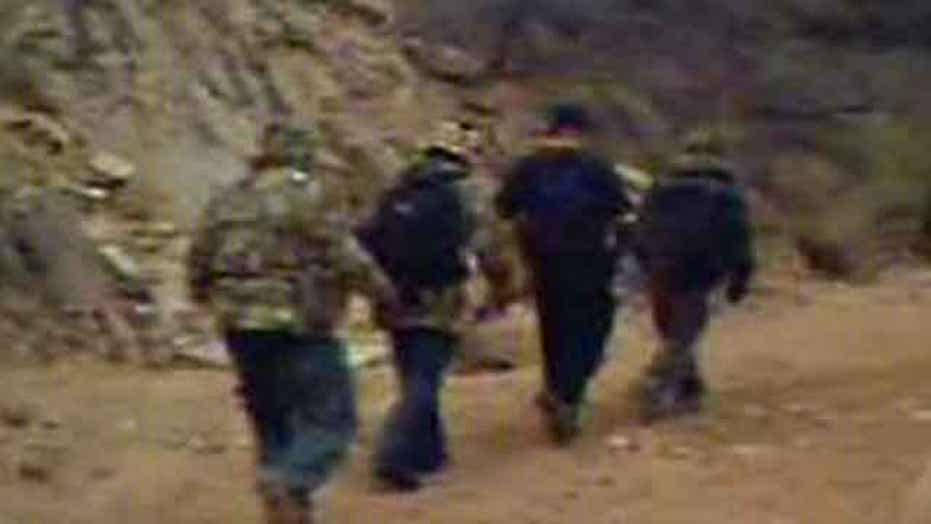Report: Cameras catch frequent illegal border crossings