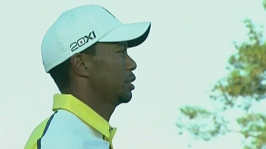Tiger Woods gets two stroke penalty for drop ball