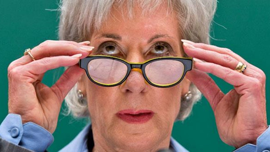 The spinning of Sebelius