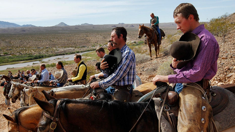 What is the battle over the Bundy ranch really about?