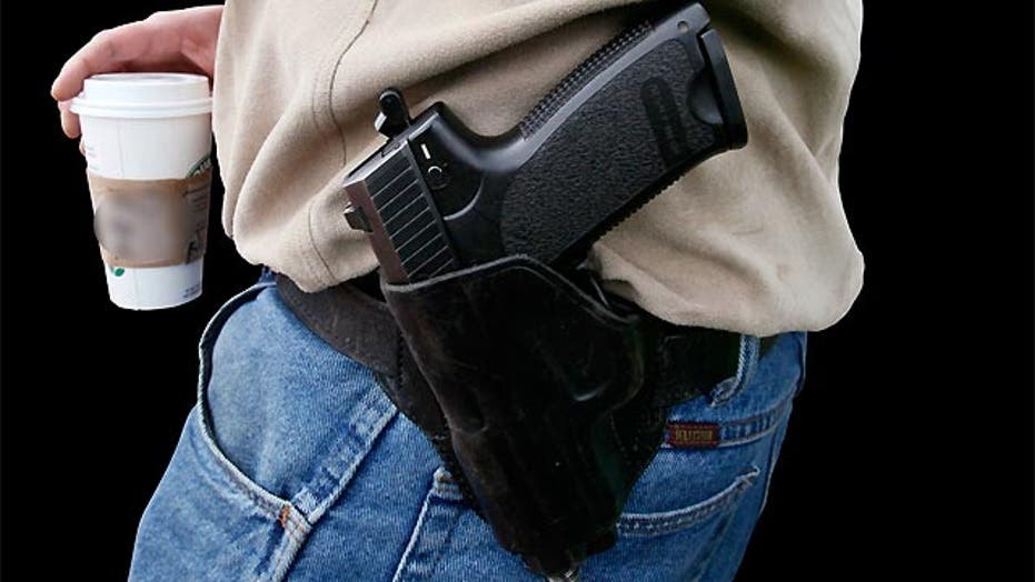 Constitutional right to carry a gun outside your home?