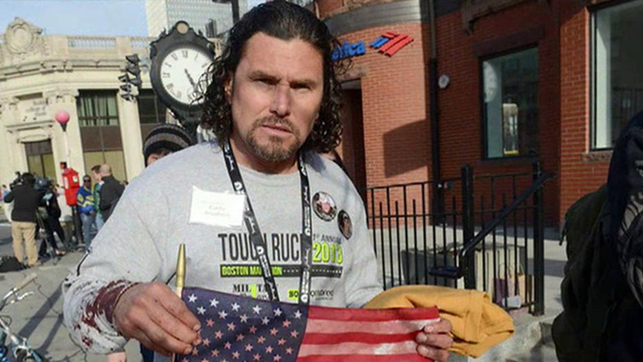 A hero rises in Boston tragedy