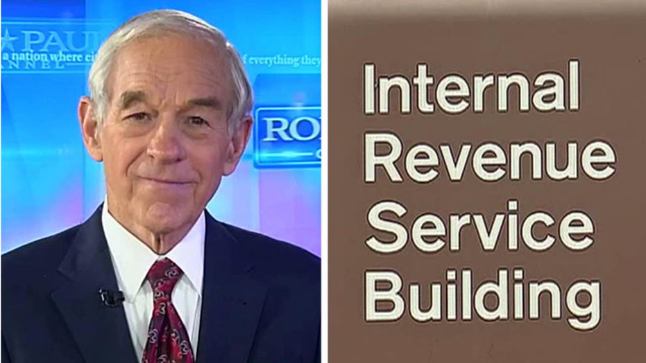 IRS fines Ron Paul's group for not handing over donor list